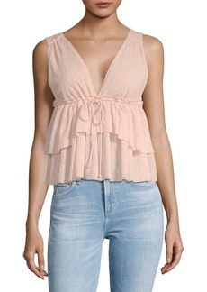 See by Chloé Tiered Babydoll Tank Top