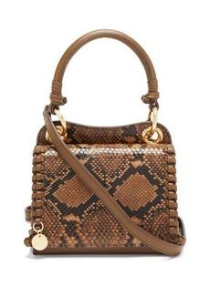 See By Chloé Tilda snakeskin-effect leather shoulder bag