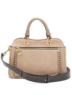 See By Chloé Tilda whipstitched leather bag
