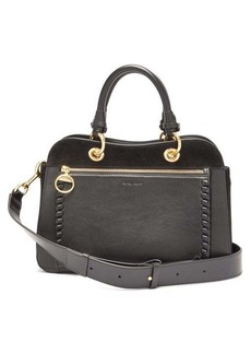 See By Chloé Tilda whipstitched leather shoulder bag