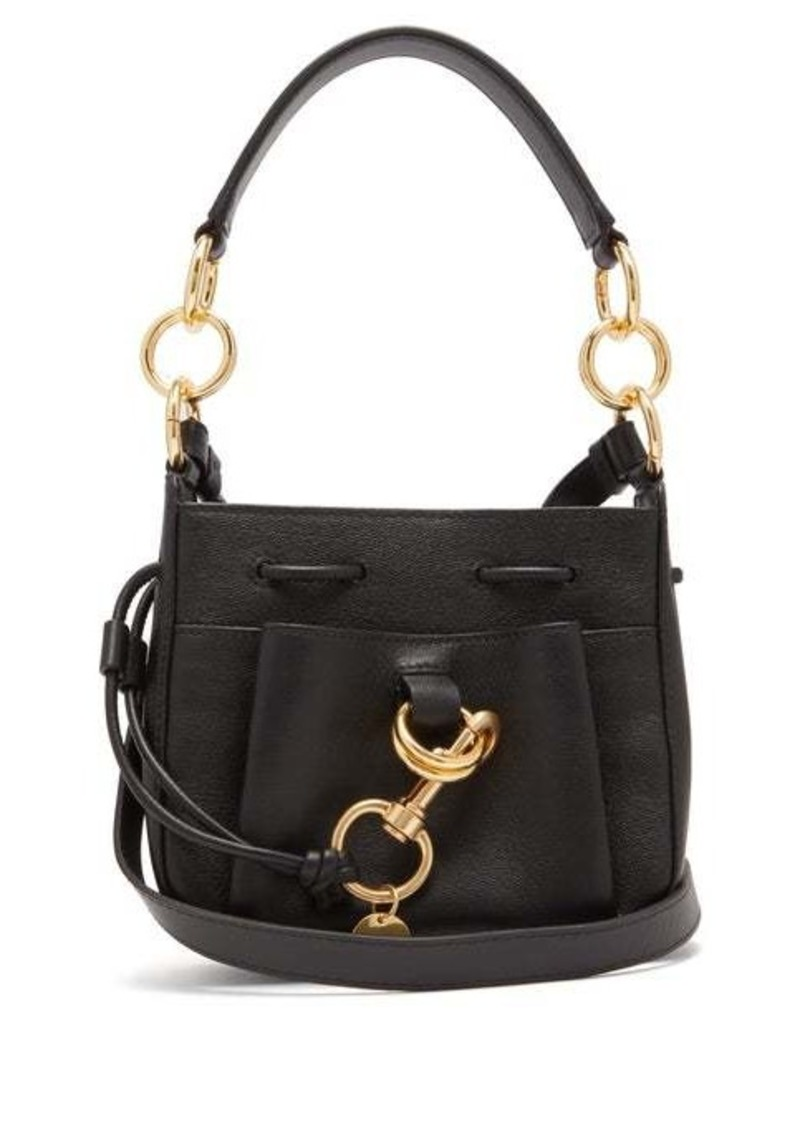 See By Chloé Tony small leather bucket bag