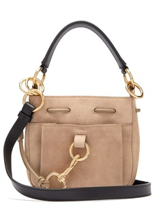 See By Chloé Tony small suede bucket bag