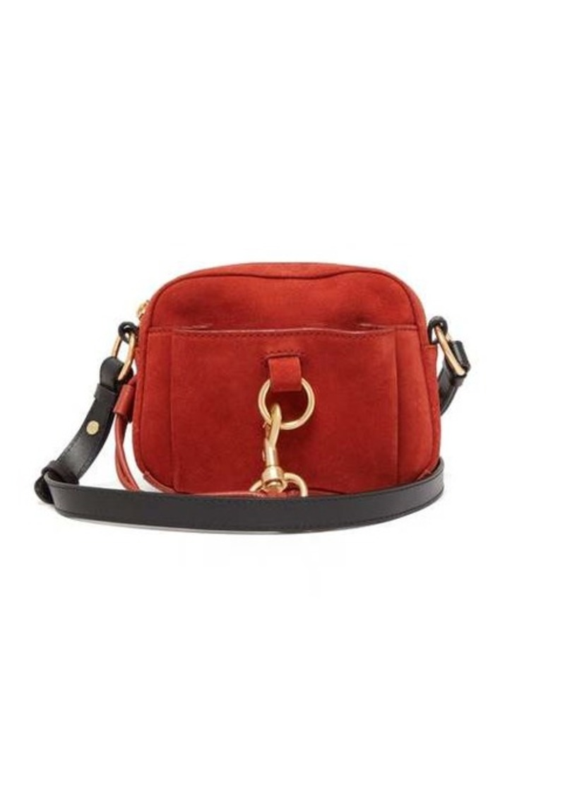 See By Chloé Tony suede and leather cross-body bag