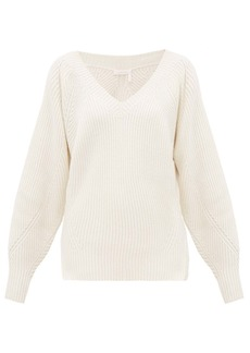 See By Chloé V-neck wool-blend sweater