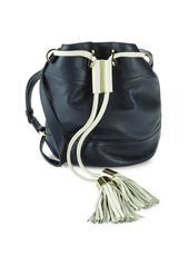 See by Chloé Vicki Small Leather Bucket Bag