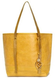 See By Chloé Woman Bisou Quilted Textured-leather Tote Saffron