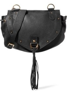 See By Chloé Woman Collins Studded Leather Shoulder Bag Black