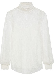 See By Chloé Woman Corded Lace Blouse Ivory