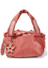See By Chloé Woman Joyrider Small Leather-appliquéd Shell Shoulder Bag Antique Rose
