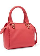 See By Chloé Woman Paige Textured-leather Shoulder Bag Bubblegum
