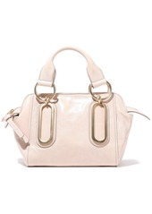 See By Chloé Woman Paige Small Washed-leather Shoulder Bag Pastel Pink