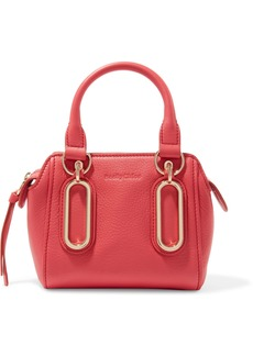 See By Chloé Woman Paige Textured-leather Shoulder Bag Bubblegum