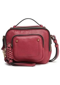 See By Chloé Woman Patti Leather Shoulder Bag Plum