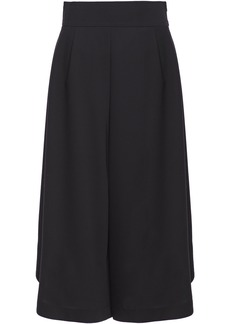 See By Chloé Woman Pleated Crepe Culottes Black