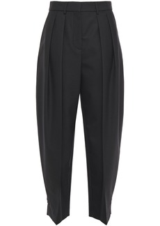 See By Chloé Woman Pleated Twill Tapered Pants Black