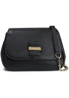 See By Chloé Woman Textured-leather Shoulder Bag Black