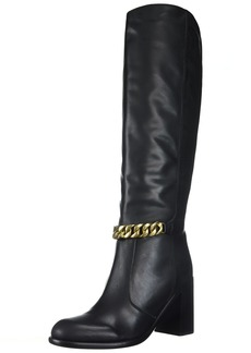 See by Chloé Women's Tall Heel Boot with Chain