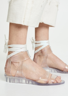 See by Chloé See by Chloe Amy Lace Up Jelly Sandals