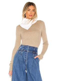See by Chloé See By Chloe Asymmetrical Turtleneck Sweater