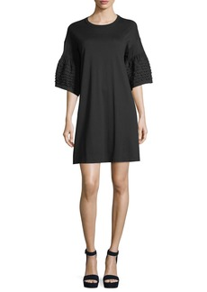 See by Chloé See by Chloe Bell-Sleeve Cotton Dress