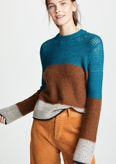 See by Chloé See by Chloe Block Stripe Sweater