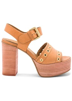 See by Chloé See By Chloe Capurso Heel in Tan. - size 36.5 (also in 37,37.5,38,38.5,39,39.5,40)