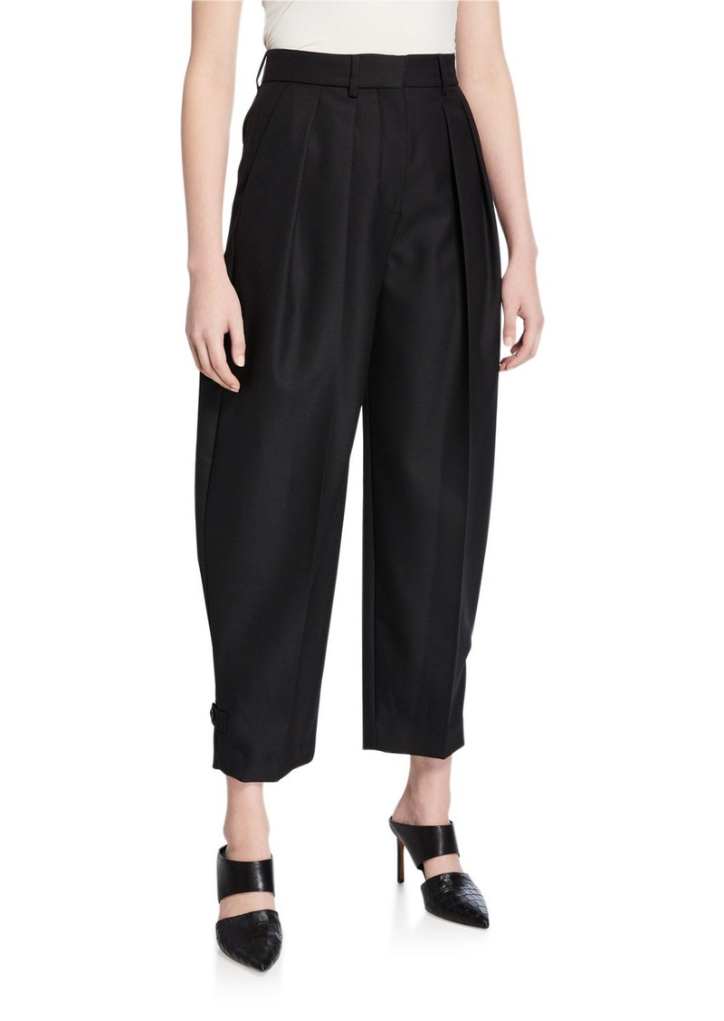 See by Chloé See by Chloe City Wool Pleated Pants