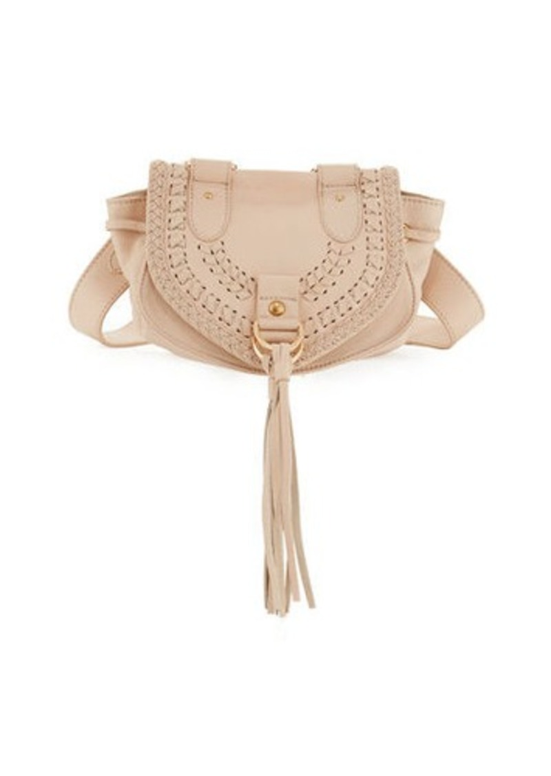 9315debd2dc4 See by Chloé See by Chloe Collins Fringe Leather Saddle Bag