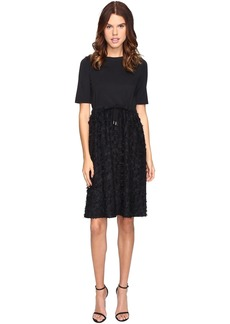 See by Chloé See by Chloe Cotton Embellished Drawstring Dress