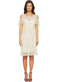See by Chloé See by Chloe Crochet Drawstring Dress