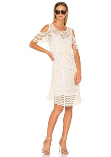 See by Chloé Crochet Midi Dress