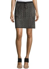 See by Chloé See by Chloe Drawstring-Waist Lace Skirt