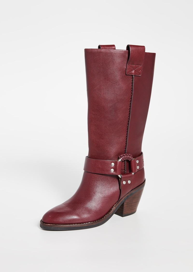 See by Chloé See by Chloe Eddie Tall Western Boots