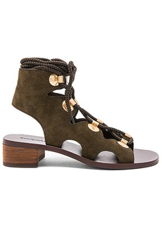 See by Chloé See By Chloe Edna Sandal in Army. - size 36 (also in 37,37.5,38,38.5,39,39.5,40)