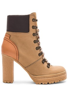 See by Chloé See By Chloe Eileen Bootie in Tan. - size 36 (also in 37,38,39,40)