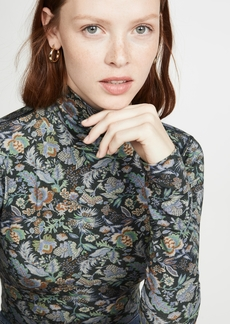 See by Chloé See by Chloe Floral Turtleneck Top