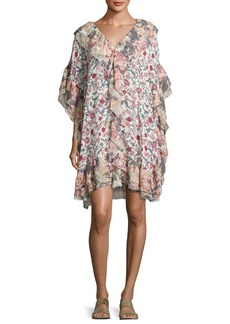 See by Chloé See by Chloe Floral Wallpaper Print Shift Dress