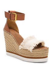 See by Chloé See By Chloe Frayed Wedge