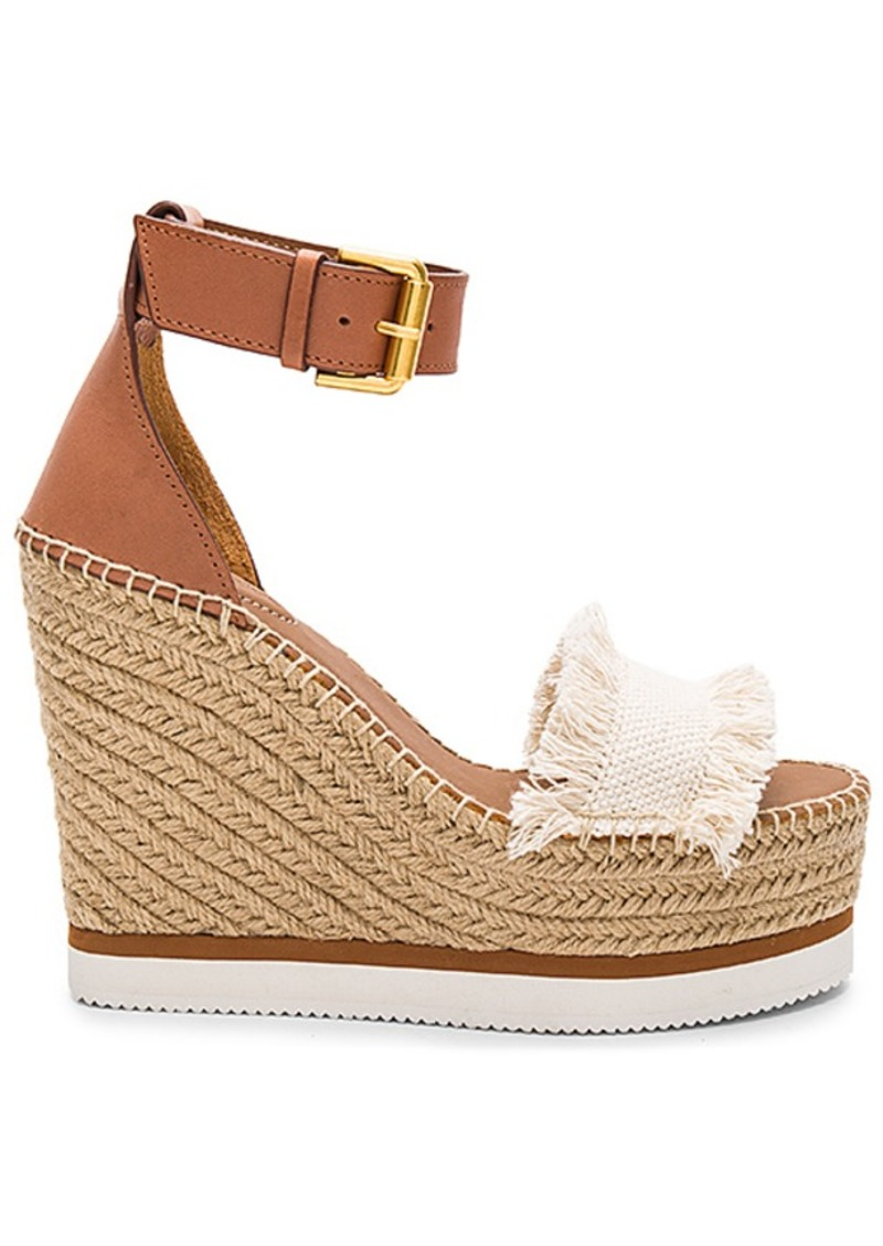 See By Chloe Frayed Wedge