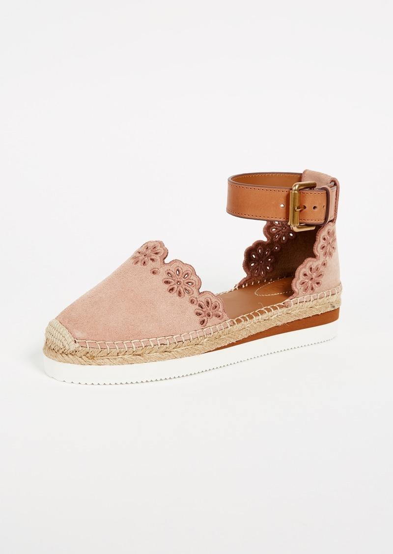 See By Chlo 233 See By Chloe Glyn Flat Espadrilles Shoes