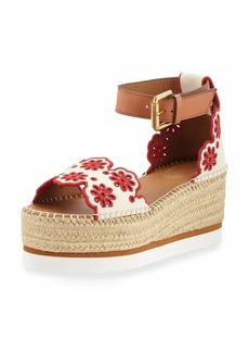 dddae08d970 See by Chloé See by Chloe Glyn Leather Platform Espadrilles