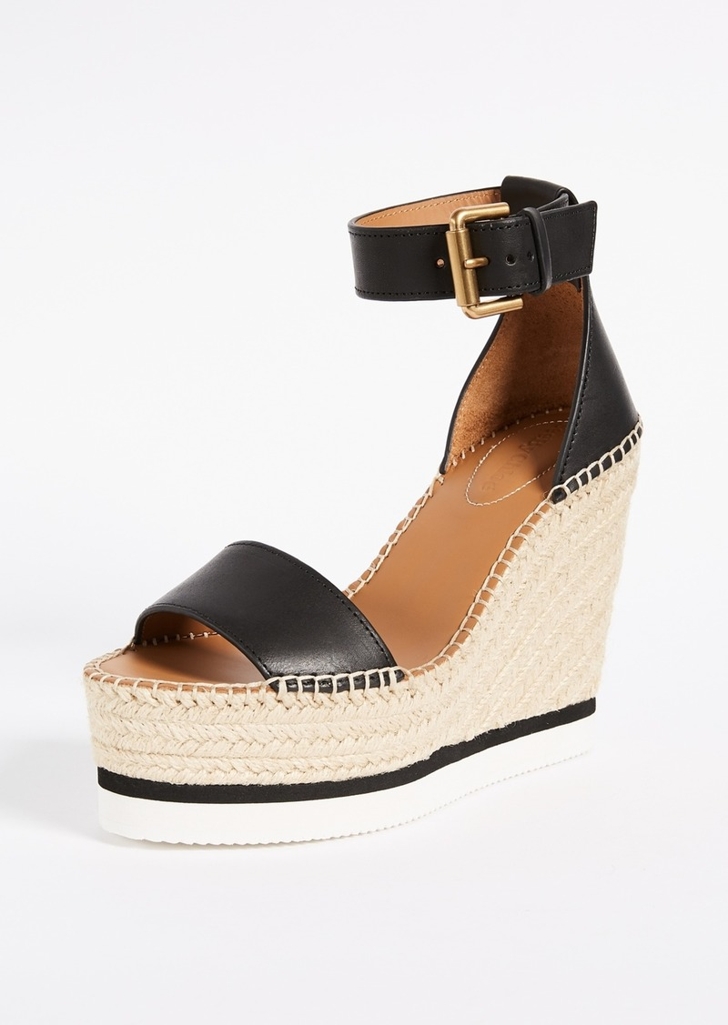 3457417f540 See by Chloé See by Chloe Glyn Wedge Espadrilles