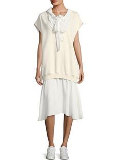 See by Chloé See by Chloe Hoodie Combo Dress