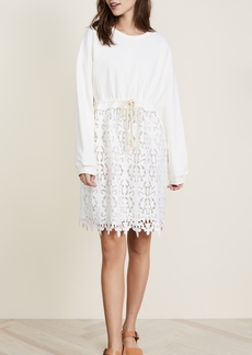 See by Chloé See by Chloe Jersey Lace Dress