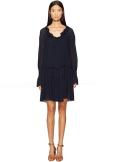 See by Chloé See by Chloe Jersey Long Sleeve Ruffle Dress