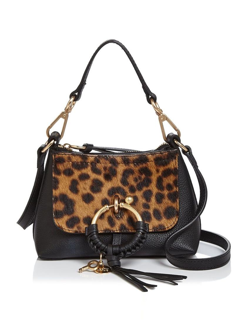 See by Chloé See by Chloe Joan SBC Mini Leopard Print Shoulder Bag