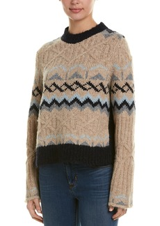 See by Chloé See By Chloe Knit Alpaca-Blend Sweater