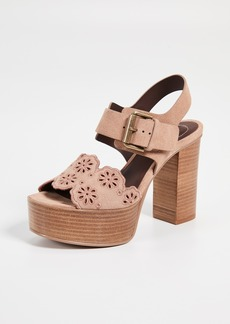 See by Chloé See by Chloe Krysty Foral Platform Sandals