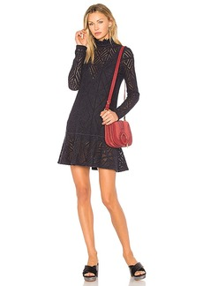 See by Chloé See By Chloe Lace Mini Dress in Navy. - size S (also in L,M,XS)