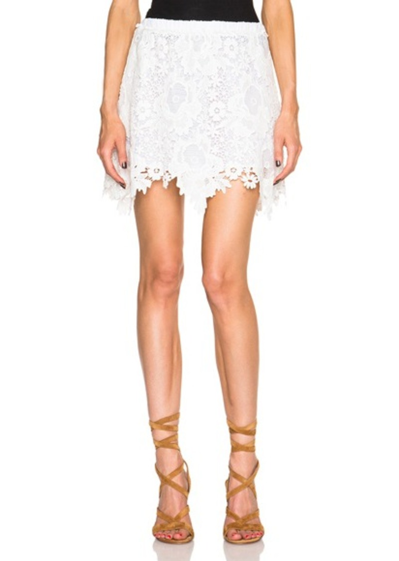 See by Chloé See By Chloe Lace Mini Skirt